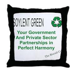 Soylent Green Throw Pillow