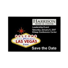 Save the Date HMC Rectangle Magnet (100 pack)