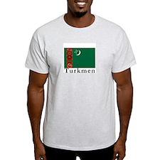 Turkmenistan Ash Grey T-Shirt