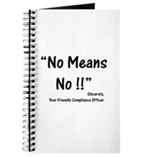 Compliance No Means No Journal