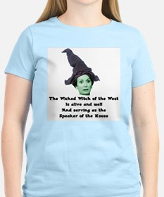 Wicked Witch of the West Women's Pink T-Shirt