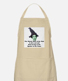 Wicked Witch of the West BBQ Apron