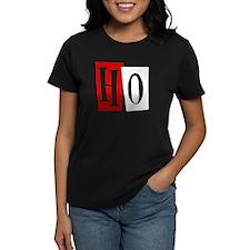 Christmas Ho Women's Black T-Shirt