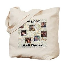 Lost and Drunk Tote Bag