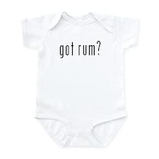 Got Rum? Infant Bodysuit