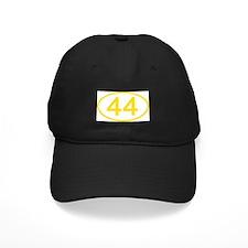 Number 44 Oval Baseball Hat