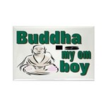 Buddha Rectangle Magnet (100 pack)