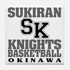 Knights Basketball Tile Coaster