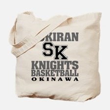 Knights Basketball Tote Bag