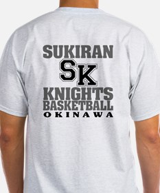 Knights Basketball Ash Grey T-Shirt