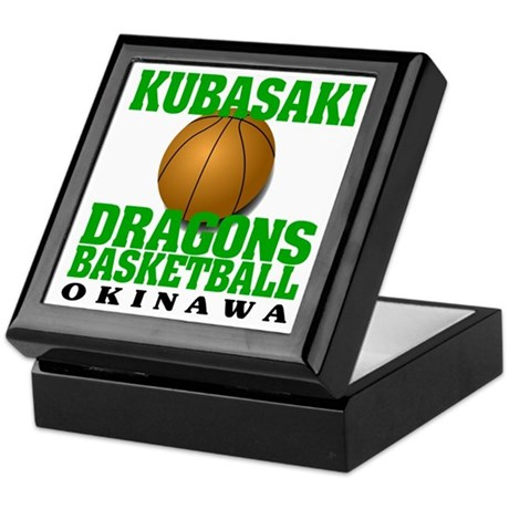 Dragons Basketball Keepsake Box