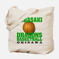 Dragons Basketball Tote Bag