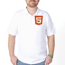 HTML5-Orange T-Shirt
