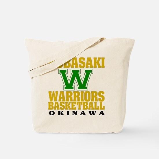 Warriors Basketball Tote Bag
