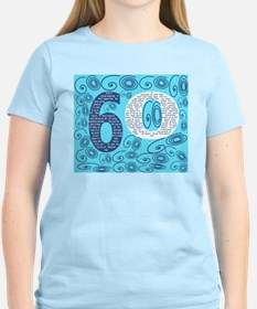60th Birthday Poem - Sixty Is a Grand Young Age T-