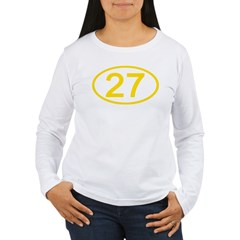 Number 27 Oval T-Shirt