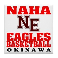 Eagles Basketball Tile Coaster