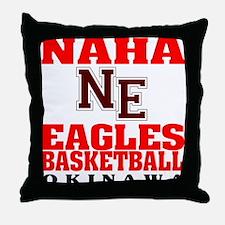 Eagles Basketball Throw Pillow