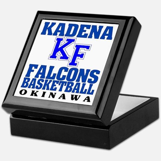 Falcons Basketball Keepsake Box