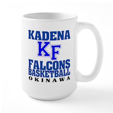 Falcons Basketball Large Mug