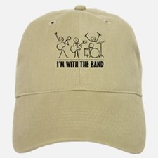 Stick man band Baseball Baseball Cap