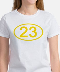 Number 23 Oval Women's T-Shirt