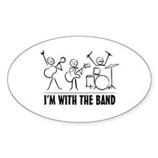 Stick man band Decal