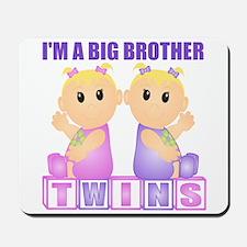 I'm A Big Brother (BGG:blk) Mousepad