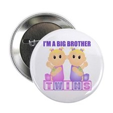 I'm A Big Brother (BGG:blk) Button
