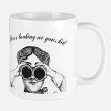 Lady with Binoculars Mug
