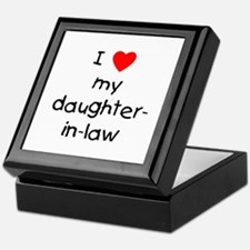 I love my daughter-in-law Keepsake Box