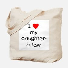 I love my daughter-in-law Tote Bag