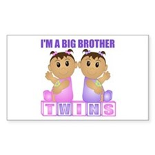 I'm A Big Brother (TGG:blk) Rectangle Decal