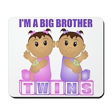 I'm A Big Brother (TGG:blk) Mousepad