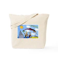 Coconuts Comics Shop Tote Bag: Color Banner