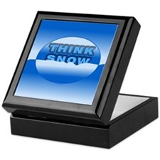 Think Snow Snowdrifts Keepsake Box