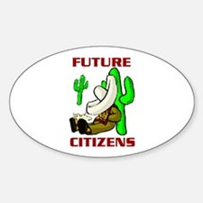 FUTURE CITIZENS Oval Decal