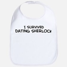 Survived Dating Sherlock Bib