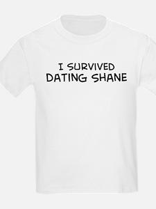 Survived Dating Shane Kids T-Shirt