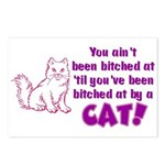 Bitched at by a Cat Postcards (Package of 8)