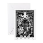 Nyarlathotep Greeting Cards (Pk of 10)