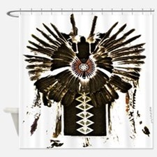 Native American Feathers Shower Curtain