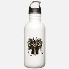 Native American Feathers Water Bottle