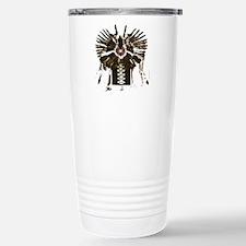Native American Feathers Travel Mug