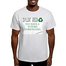 Soylent Green Recycling Ash Grey T-Shirt
