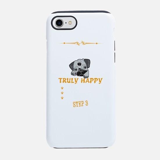 Hug The Pug iPhone 7 Tough Case