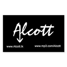 Alcott Sticker 3 X 5