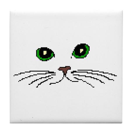 Cats Face Tile Coaster