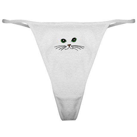 Cats Face Classic Thong