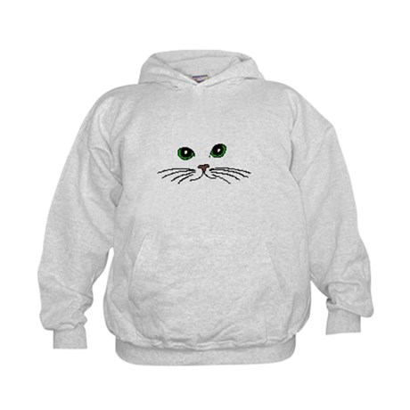Cats Face Kids Hoodie